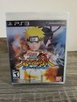 BRAND NEW SEALED Naruto Shippuden Ultimate Ninja Storm Generations PS3 Bandai