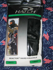 Hatch Reactor HardKnuckle RHK 25 Tactical Gloves Black NIB