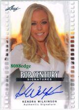 2011 LEAF POP CENTURY AUTOGRAPH AUTO: KENDRA WILKINSON - PLAYBOY GIRLS NEXT DOOR