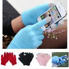 Unisex Women Men Touch Screen Soft Winter Gloves Warmer Smartphone Mobile Phone