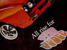 1969 PONTIAC GTO JUDGE PRINT AD-poster/picture/sign/photo/garage art-Lemans/1968