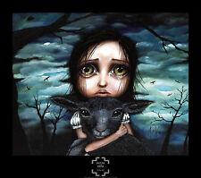 Clarice by Angelina Wrona Fine Art Print Fantasy Gothic Poster 26.5x30