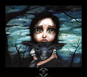 Clarice by Angelina Wrona Fine Art Print Fantasy Gothic Poster 26.5x30