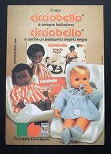 F265-Advertising Pubblicità-1975-SEBINO CICCIOBELLO,CICCIOBELLO ANGELO NERO