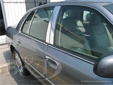 Chrome SS Pillar Posts FOR 1998-2011 Mercury Grand Marquis Ford Crown Victoria