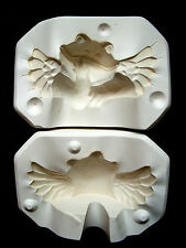 Vintage ☆ 1996 SCIOTO FROG ANGEL ☆ Ceramic Mold S-3173 Shelf Sitter Plaster ☆