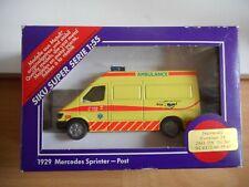 "Siku Mercedes Sprinter Ambulance ""Rijn en Venen"" in Yellow in Box (Siku nr: 1929"