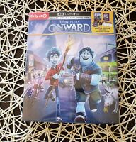 Disney Onward 4K UHD/BluRay/Digital Target Exclusive + Gallery Book still sealed
