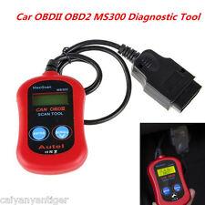 ELM327 MS300 OBDII OBD2 Car Diagnostic Scanner Tool CAN Fault Code Scan Decoder