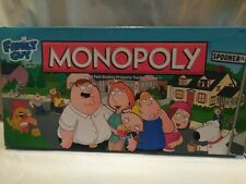 Monopoly Hasbro Family Guy Collector's Edition Board Game 2010 complete
