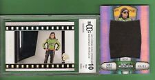 DANICA PATRICK NASCAR JUMBO RACE USED FIRESUIT #d99 + GRADED 10 PREMIUM CARD