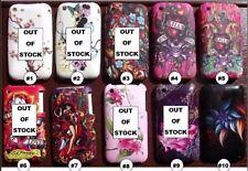 Elegante Impreso Silicona Gel Estuche Cubierta para Teléfonos Móviles iPhone 3/3g/3gs #S