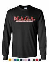 MAGA Make America Great Again Long Sleeve T-Shirt Trump Keep America Great Tee