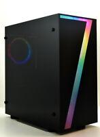 "RGB ""7"" GAMING PC Intel Quad i5 8 GB RAM 1TB HDD 2GB GDDR5 GT 710 GFX"