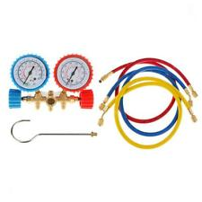 Car R134a R12 R22 R502 Manifold Gauge Set HVAC AC Refrigeration Charge Hoses