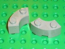 2 x LEGO OldGray brick 3063 / Set 6940 10022 493 5550 7190 6090 6046 7110 10020