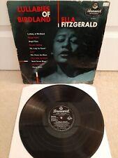 "Ella Fitzgerald – Lullabies Of Birdland Vinyl 12"" LP Brunswick LAT 8115 1956"