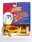 SPEED RACER 2000 RACER X CAR w/ORIG FILMSTRIP ANIMATION CEL JOHNNY LIGHTNING MOC