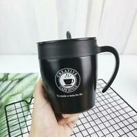 Travel Coffee Mug Cup Stainless Steel Leakproof Insulated Thermal Flask