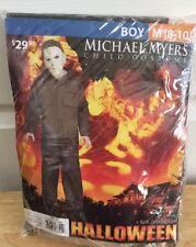 Halloween Michael Myers Boys Medium Costume Set New Cosplay
