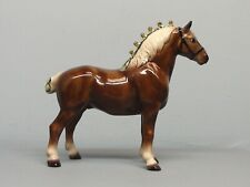 Dark Chestnut  Hagen Renaker DW Draft Horse Cinco