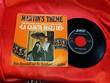 DISCO 45 giri -  Stan Romanoff and his orch... Martin's theme  -  colonna sonora