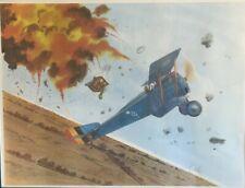 WWI Ace Willy Coopens SIGNED Art Fokker Richthofen Hanriot Jasta Robert Taylor