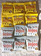 12 NEW pouch bags Sojos Freeze Dried Senior and Beef COMPLETE Dog Food!