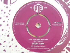 JAQUI CHAN But No One Knows Ex+ Pye 1960 UK 7""
