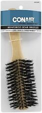 Conair Wood Brush With Mixed Boar Bristles 1 ea