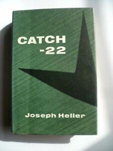 Vintage 1963 Reprint Society Joseph Heller Catch 22 Hardback - Miscut Page Error