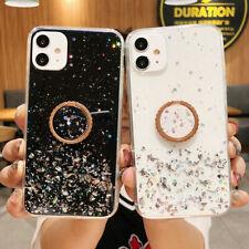 Bling GLITTER teléfono Suave Estuche Y Soporte Para Huawei Y6S Y6P Y5P 2020 Y6 Y7 2019