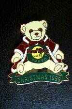 HRC Hard Rock Cafe Tokyo Christmas 1999 Herrington Bear LE500