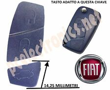 TASTI PER CHIAVE COVER TELECOMANDO 2 TASTI FIAT PANDA *NUOVO* BLU SCURO
