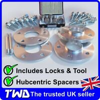 7MM & 15MM WHEEL SPACER KIT - PORSCHE BOXSTER 986 987 BOLTS LOCKS ALLOYS [KT1]