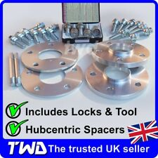 7MM & 15MM WHEEL SPACER KIT - PORSCHE 911 (996 997 991) BOLTS LOCKS ALLOYS [KT1]