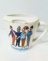 Vintage Rare Disneyland Barber Shop Quartet Shaving Mug, Walt Disney Production