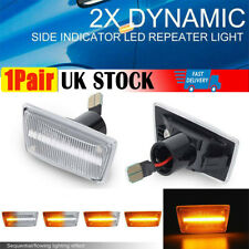 Dynamic Side Indicator LED Light For Adam Astra H Corsa D Opel Vauxhall Meriua B