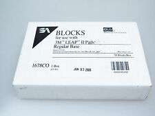 SA Blocks for use with 3M Leap II Pads 1678CO Regular Base Box 50 Stk.