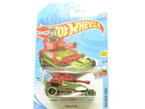 Hot Wheels Tanknator Hw Ride-Ons Vert 98/250 Long Carte 1 64 Scale Scellé Neuf