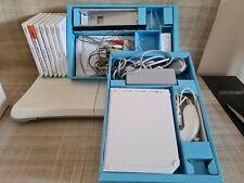 Nintendo Wii White Console Bundle Balance Board + 7 games.