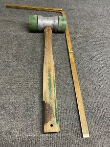 Vintage Plomb soft face mallet 1392 original and Handle