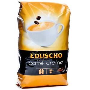 TCHIBO EDUSCHO Crema Espresso Roasted Coffee Beans 1kg -TRACKED SERVICE -