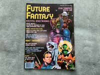 Future Fantasy Magazine Number 1 February 1978 Shatner, Star Wars, Buck Rogers