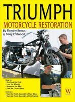 Triumph Motorcycle Restoration Book~Start-to-Finish 1963 1969 Bonneville~NEW HC!