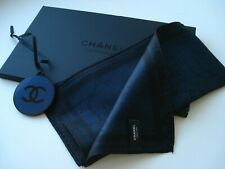 CHANEL  Parfums  small scarf handkerchief neck tie band pocket square VIP gift