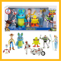 Disney Toy Story 4 Ultimate Gift Pack 7 Figures - Woody, Buzz, Bunny, Ducky, Bow