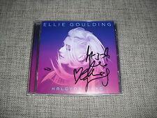 ELLIE GOULDING - HALCYON DAYS - AUTOGRAPHED / HAND SIGNED ALBUM   DELIRIUM  ARMY