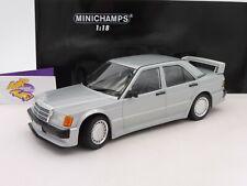 """Minichamps 155036001 # mercedes benz 190e 2,5 16 evo! año 1989 """"plata"""" 1:18"""