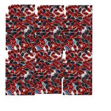100 Rhinestones  RED  new lots Arts Crafts OVALS